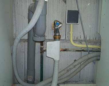 Terugslagklep waterleiding plaatsen