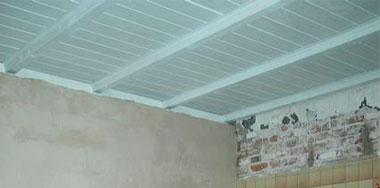 gevelbekleding schilderen gips plafond stucen