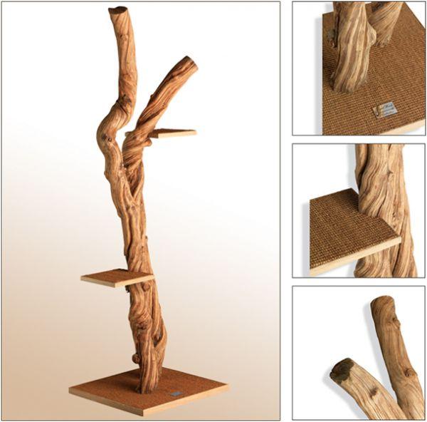 Krabpaal hout zelf maken