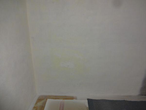 zouten in muur