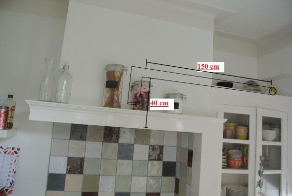 Keuken Schouw Zelf Maken : Afzuigkap in bestaande schouw