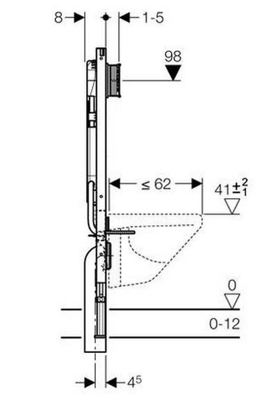 20170408&013303_Dikte Afvoer Badkamer ~ Hangtoilet plaatsen met niet verplaatsbare afvoer