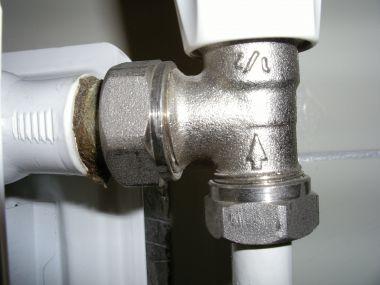 Standen thermostaatknop