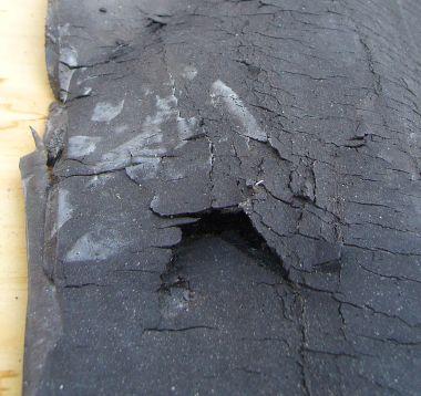 Mastiek dak verwijderen