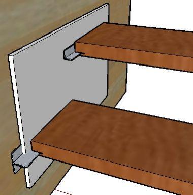 Ideetje voor blinde montage traptreden for Dikte traptreden hout