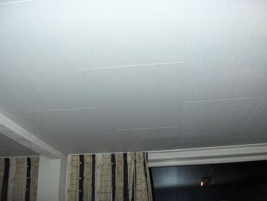 Verlaagd plafond in de badkamer