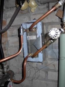 Warmtewisselaar vloerverwarming