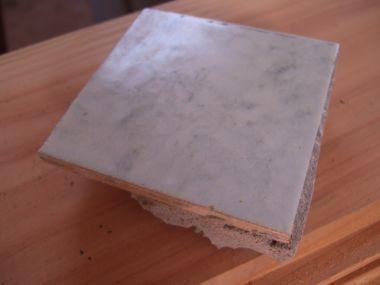 Cement verwijderen van oude tegels