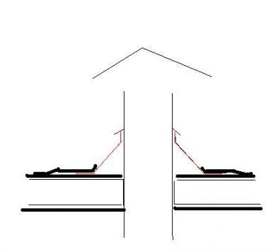 Dakdoorvoer houtkachel schuin dak