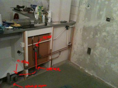 Wasmachine trekt sifon leeg