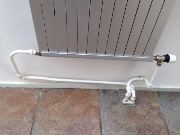 Design radiator aansluiten