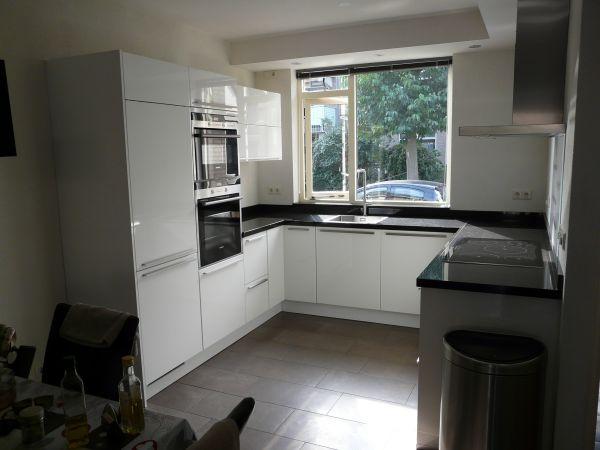 Nieuwe keuken muur exacte binnenmaat - Winkel raam keuken ...