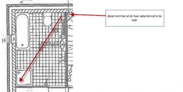 Cement In De Badkamer ~ WC verplaatsen, afvoer????