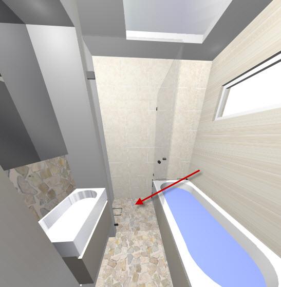 Inloopdouche op afschot ontwerp inspiratie voor uw badkamer meubels thuis - Fotos italiaanse douche ontwerp ...
