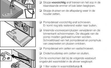 Bosch wasdroger maxx 7 sensitive handleiding