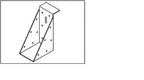 Balken plat dak constructie