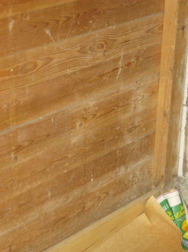 Waterdicht maken van houten schuurwand for Vijverfolie plakken