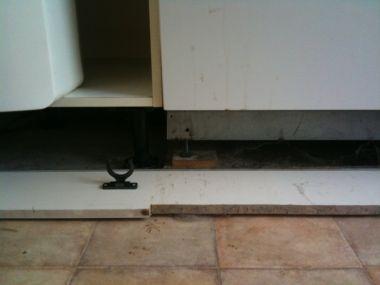 Plint keuken verwijderen tbv plaatsen vaatwasser algemene zaken got