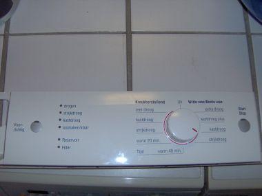 Bosch maxx 6 resetten