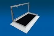 Lichtkoepel voor toetreding dakterras for Vaste trap ipv vlizotrap