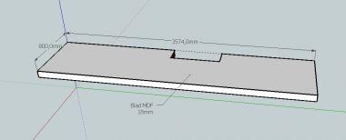 Plank Onzichtbaar Aan De Muur Bevestigen.Kuchenruckwand Kreative Ideen Bureau Aan Muur Maken