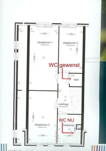 Cement In De Badkamer ~ WC (afvoer) verplaatsen