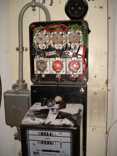 Oude meterkast, vervangen of niet (met foto u0026#39;s)