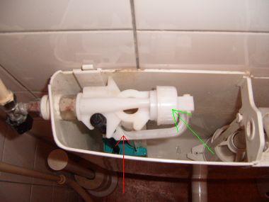 Binnenwerk Toilet Reservoir : Toilet vlotter u huis schoonmaken