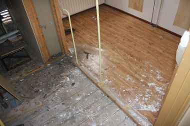 Vloer met lijmlaag zeil vinyl verwijderen werkspot