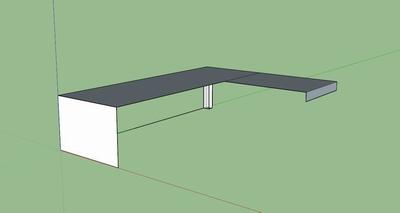 Zwevend Bureau Maken : Zelf bureau maken mdf zwevend bureau op maat indeo bureau blad