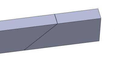 Vervolgens deze 2 balken koppelen met 2 staalplaten.