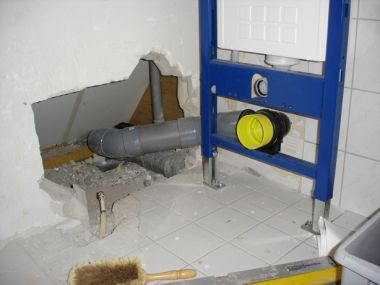 Hoek Afloop Toilet Afvoer