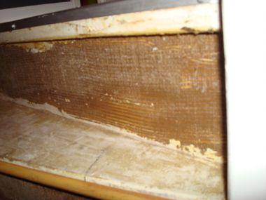 Lijmresten trap verwijderen verfbrander