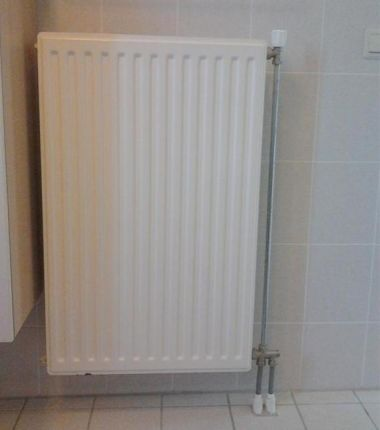 Oude radiator vervangen door nieuwe