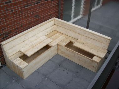 Steigerhouten loungeset for Loungeset steigerhout zelf maken