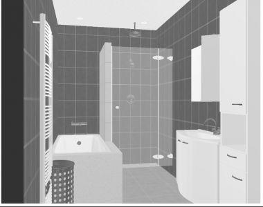 Klein badkamer ontwerp for Badkamer ontwerp maken