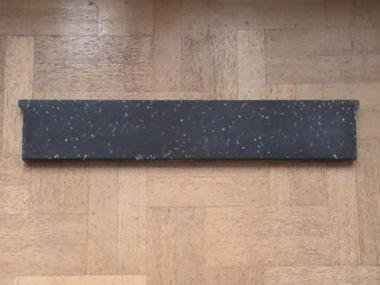 Natuursteen zwart maken