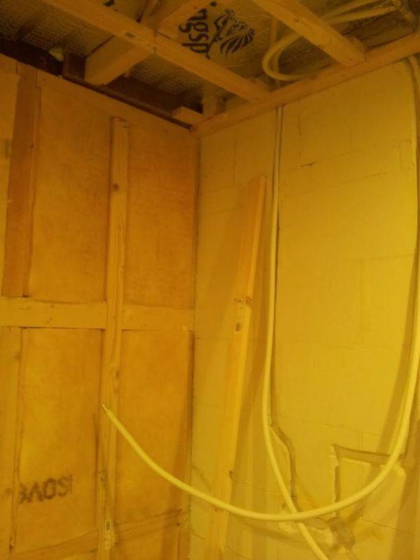 welke gipsplaten badkamer: verlaagd plafond badkamer bestemd voor, Badkamer