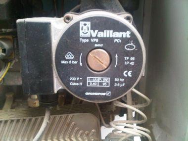 Extra verwarming pomp te zwak thermostaatkranen - Water kamer model ...