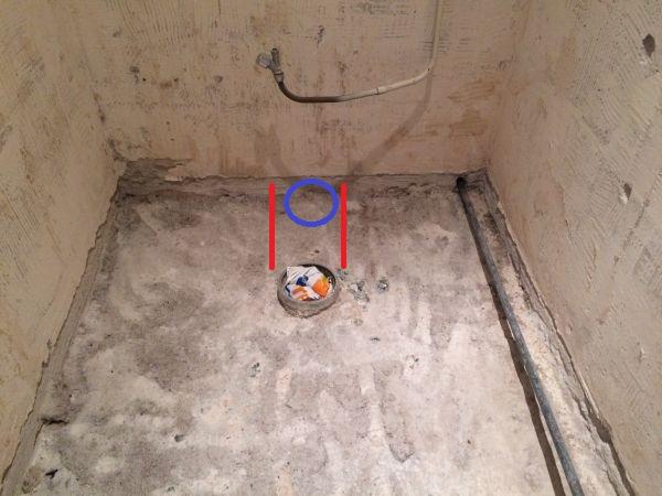 Wc afvoer verplaatsen zonder kruipruimte - Toilet aan de muur ...