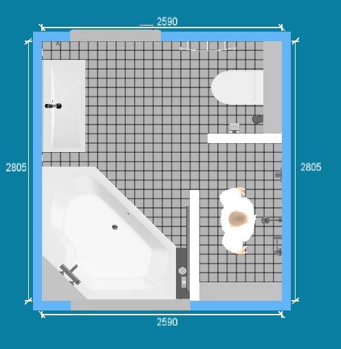 Kleine Badkamer Wasbak ~ Idee voor indeling badkamer