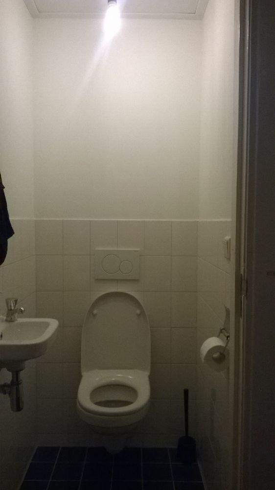 Inbouw wc afstand tussen afwerkplaat en stenen muur - Muur wc ...