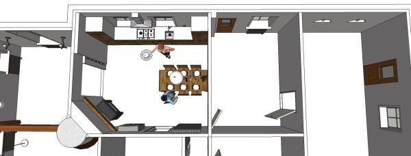 Keuken Aanrecht Plaatsen : raamkozijnen verkorten voor aanrecht + deur dichtmaken