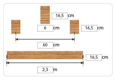 Badkamer op houten vloer