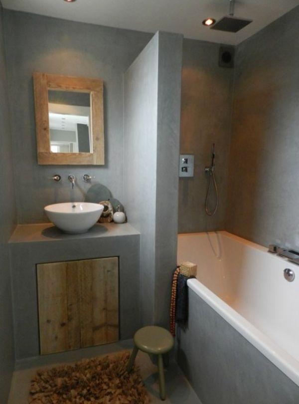 Van mini badkamer met granitovloer naar droombadkamer - Mini badkamer m ...