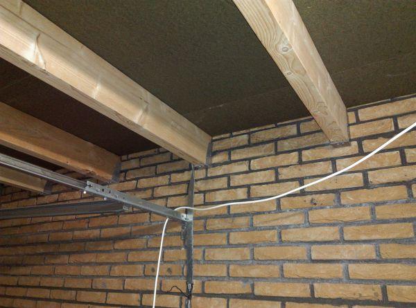 Isolatie langs balken platte dak - Pergola dak platte ...