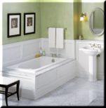 Een bad plaatsen - Klusidee