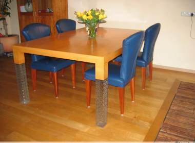 Krassen Tafel Verwijderen : Eettafel opknappen putten en krassen