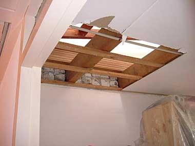 Vaste trap naar zolder trapgat maken for Van vlizo naar vaste trap