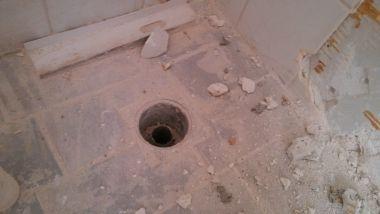ligbad en douche plaatsen in badkamer met 1 doucheputje, Badkamer